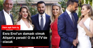 Esra Erol'un Kız Kardeşiyle Nişanlanmak Alişan'a Yaradı! ATV'de Program Yapacak