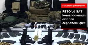 FETÖ Tutuklusu Eski SAT Komandosunun Bodrumunda Cephanelik Ele Geçirildi