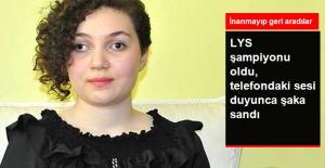 Görme Engelli Fulya, LYS Şampiyonluğunu Şaka Sanmış