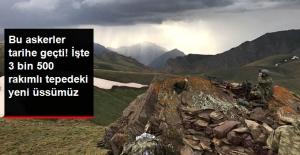 Hakkari'de 9 PKK'lı Öldürüldü, En Yüksek Rakımlı Üs Bölgesi Oluşturuldu