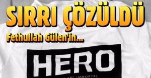 'Hero' tişörtünün sırrı ortaya çıktı