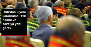 HSK'dan Yeni Kararname: 110 Hakim ve Savcı Yeni Göreve Atandı