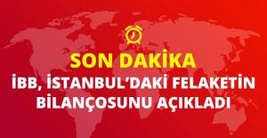 İBB, İstanbul'daki Fırtınanın Bilançosunu Açıkladı