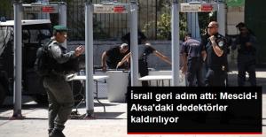 İsrail Geri Adım Attı: Mescid-i Aksa'daki Dedektörler Kaldırılıyor