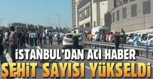 İstanbul Bayrampaşa'da 'yunus' ekibi kaza yaptı: 2 şehit