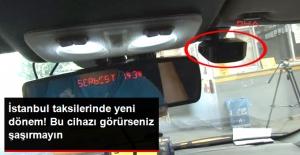 İstanbul'da 3 Binden Fazla Taksiye Kamera Takıldı