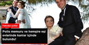 Konya'da Aile Faciası! Polis Memuru ve Hemşire Eşi Evde Kanlar İçinde Bulundu