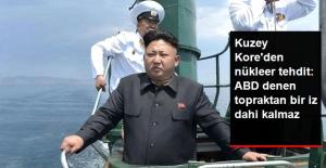 Kuzey Kore'den ABD'ye Nükleer Tehdit: ABD Denen Topraktan Tek Bir İz Dahi Kalmaz