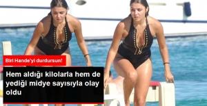 Mayolu Görüntülenen Hande Erçel'in Kiloları Aldı Başını Gitti