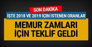 Memur zamları 2018-2019 Memur-Sen'den son dakika teklifi