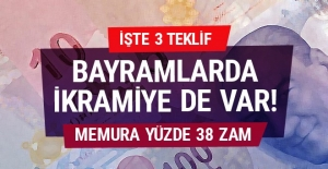 Memura yüzde 38 zam 2018-2019 pazarlık oranları!