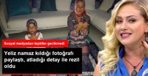 Namaz Kılarken Fotoğraf Paylaşan...