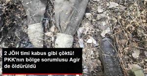 """PKK'nın Tunceli Sorumlularından """"İranlı Agir"""" Öldürüldü"""