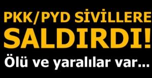 PKK/PYD'den tarım arazisinde çalışan işçilere saldırı