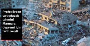 Prof. Dr. Ercan Büyük Marmara Depremi İçin Tarih Verdi!