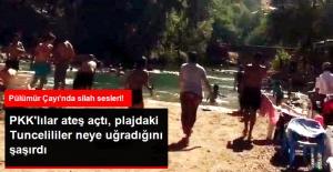 Pülümür Çayı'nda Silah Sesleri! PKK'lılar Bastı, Vatandaşlar Kaçıştı