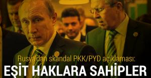 Rusya'dan skandal PKK/PYD açıklaması