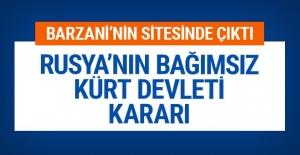 Rusya'nın Kürdistan devleti kararı Kürt sitesi duyurdu
