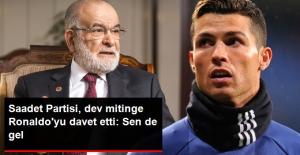 "Saadet Partisi, ""Büyük Kudüs Mitingi""ne Cristiano Ronaldo'yu Davet Etti"