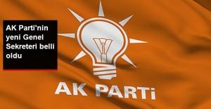 Son Dakika! AK Parti'nin Yeni Genel Sekreteri Belli Oldu