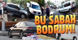 Son dakika: Bodrum'daki deprem sonrası sabah ortaya çıkan görüntüler