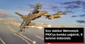 Son Dakika! F-16'lar PKK'nın Zap Kampına Bomba Yağdırdı, 9 Terörist Öldürüldü