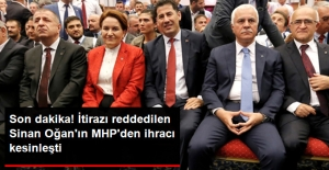 Son Dakika! Sinan Oğan'ın MHP'den İhracı Kesinleşti