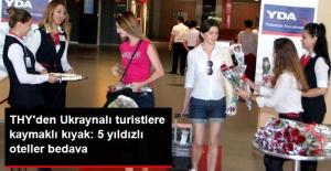 THY, Ukraynalı Transit Yolcuları İstanbul'da 4 ve 5 Yıldızlı Otellerde Ücretsiz Ağırlayacak