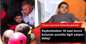 Uludağ'da Kaybolan Çocuk, Geceyi Uçurumun Kenarında Uyuyarak Geçirmiş
