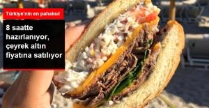 Ünlü Tatil Merkezi Çeşme'de Çeyrek Altın Fiyatına Hamburger