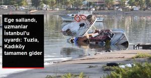 Uzmanlardan İstanbul'a Tsunami Uyarısı: Tuzla ve Kadıköy Tamamen Gider