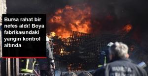 Vali Açıkladı: Bursa'da Boya İmalathanesindeki Yangın Kontrol Altına Alındı