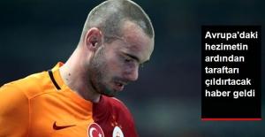 Wesley Sneijder, Galatasaray'dan Ayrılıyor