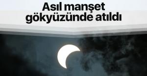 100 yılın en büyük Güneş tutulması gerçekleşti