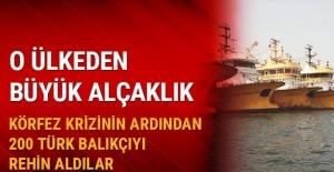 200 Türk balıkçı Afrika'da mahsur