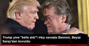 ABD'deki Irkçı Savaş Nedeniyle Trump Baş Stratejisti Steve Bannon'ı Kovdu