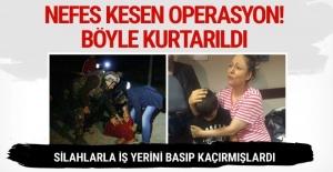 Aksaray'da silahlı kişilerin kaçırdığı çocuk böyle kurtarıldı
