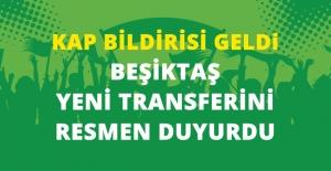 Beşiktaş, Medel ile 3 Yıllık Sözleşme İmzalandığını KAP'a Bildirdi