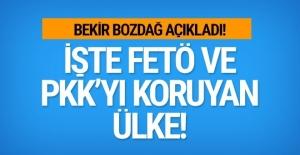 Bozdağ açıkladı! İşte FETÖ ve PKK'yı koruyan ülke
