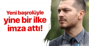 Çağatay Ulusoy aldığı başrolle yine bir ilke imza attı!