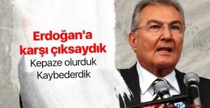 Deniz Baykal: Erdoğan'a karşı çıksaydım kepaze olurduk