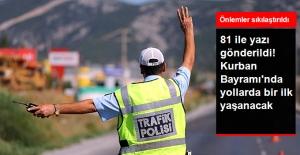 İçişleri Bakanlığı'ndan Kurban Bayramı'nda 53 Bin Personelle Trafik Denetimi