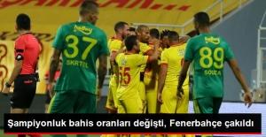 İlk Hafta Sonunda Şampiyonluk Bahis Oranları Değişti, Fenerbahçe Çakıldı