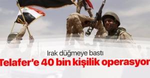 Irak'tan Telafer için DEAŞ'a operasyon