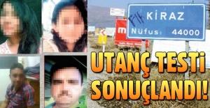 İzmir Kiraz'da utanç testi sonuçlandı