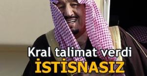 Kral talimat verdi: İran ve Katar dahil tüm hacılara...