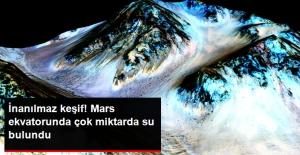 Mars'ta Buz Halinde Çok Miktarda Su Keşfedildi