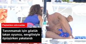 Oyuncu Emre Karayel Yeni Sevgilisiyle Plajda Öpüşürken Görüntülendi