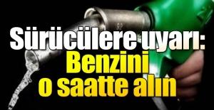 """Ozon kirliliğine karşı """"benzini"""