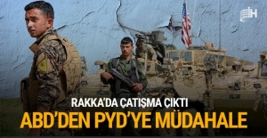 PYD Rakka#039;da yağmaladı çatışma...